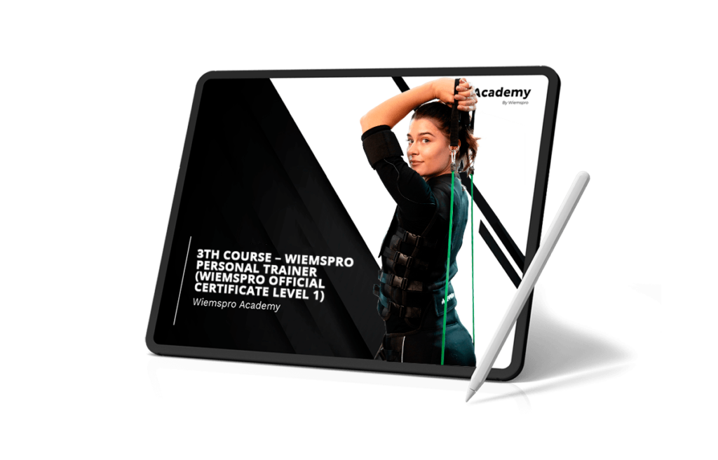 3TH COURSE – WIEMSPRO PERSONAL TRAINER (WIEMSPRO OFFICIAL CERTIFICATE LEVEL 1)